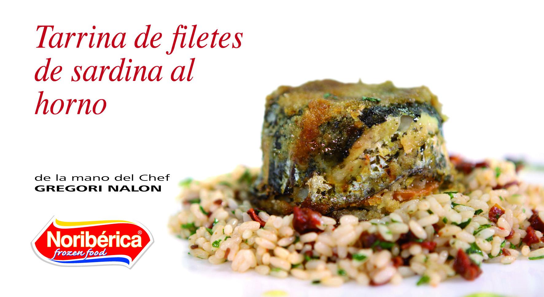 filetes de sardina al horno