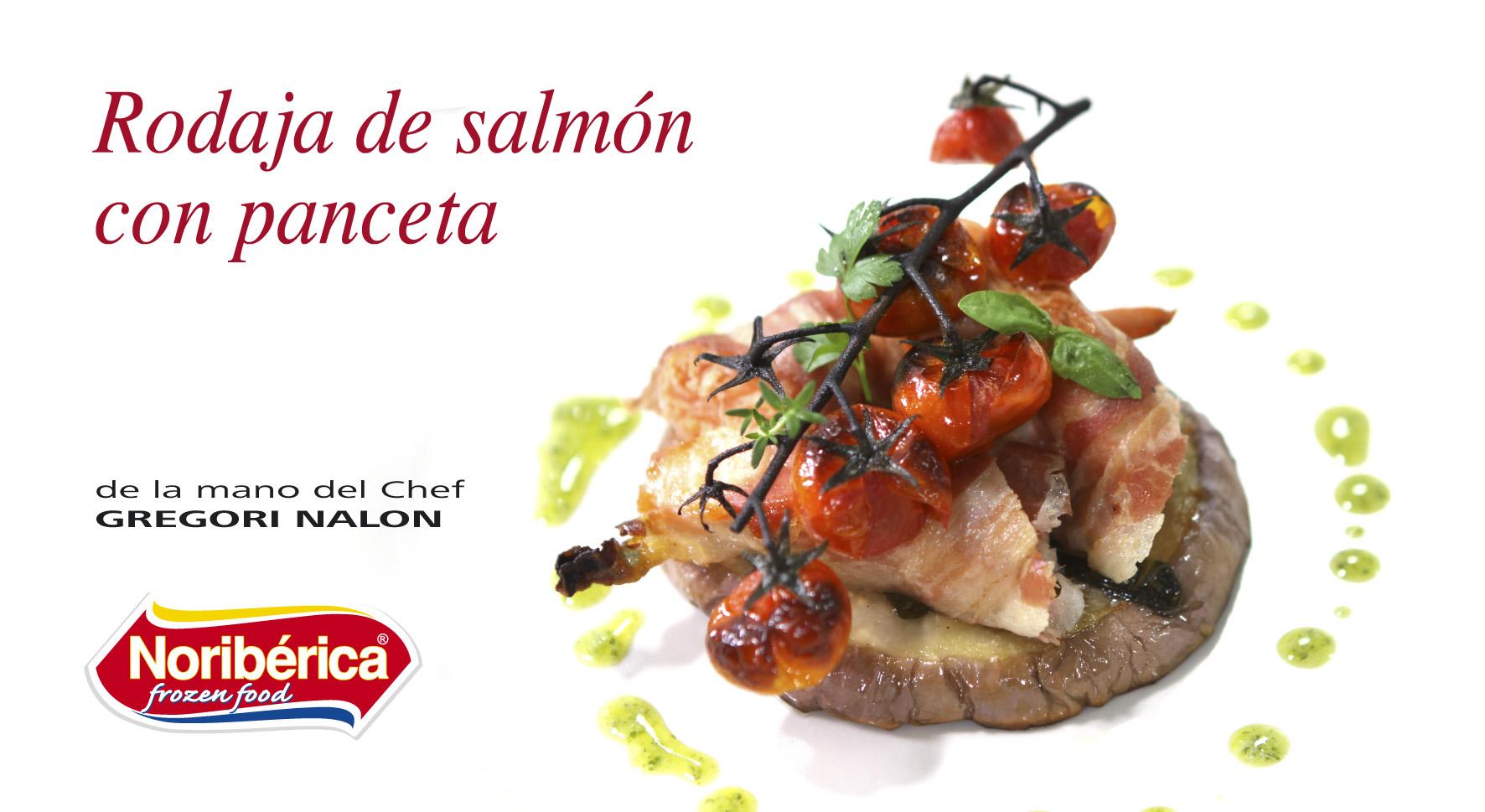 rodaja de salmon