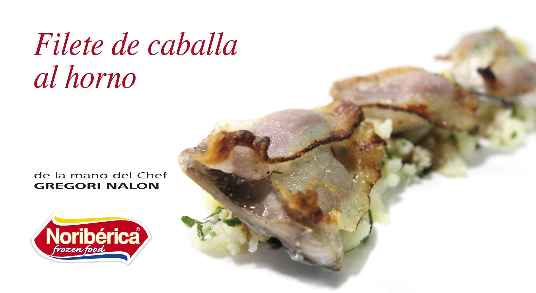 filete de caballa al horno