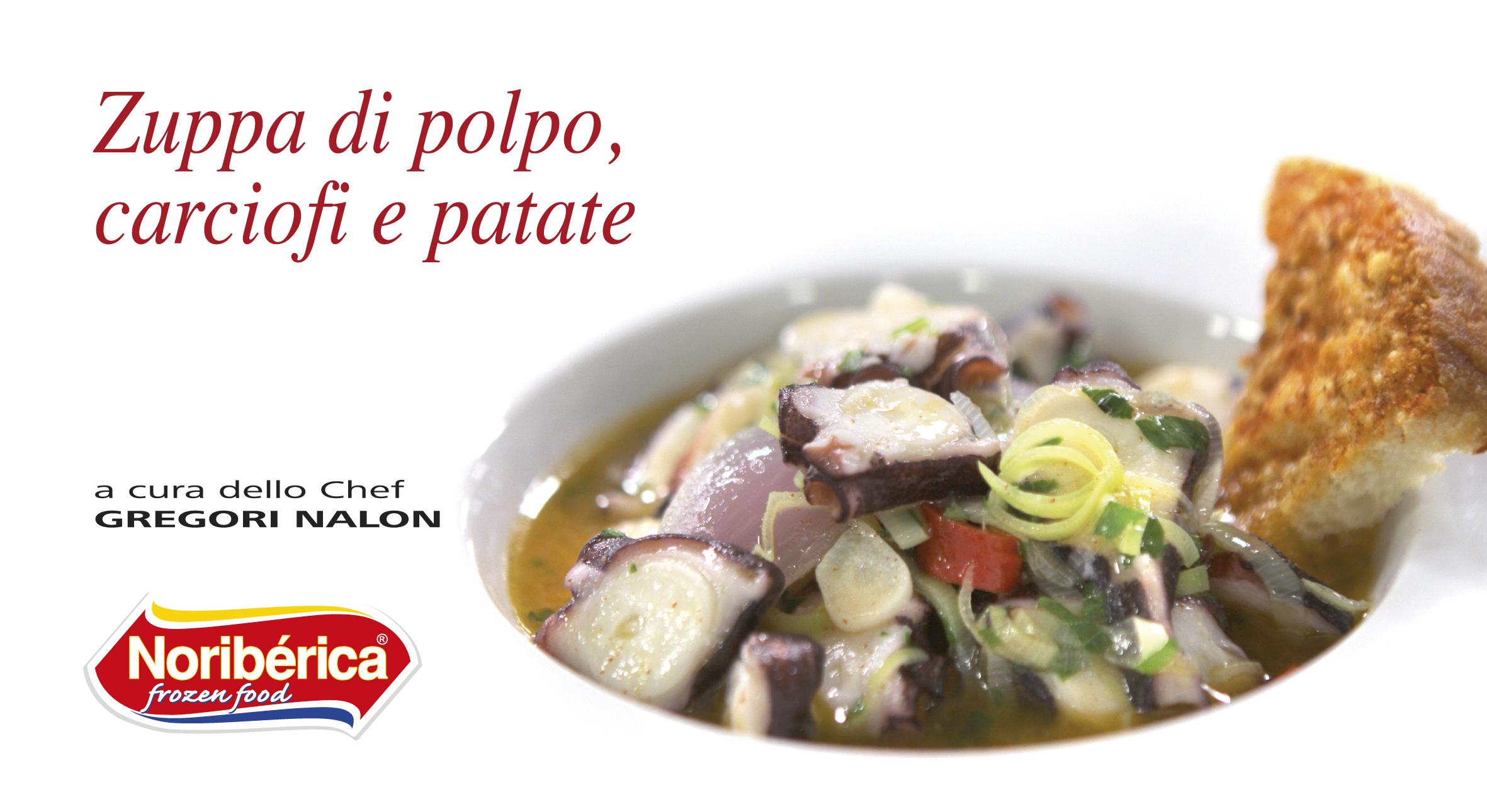 zuppa di polpo cipolle